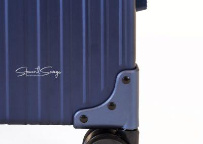 Aleon Aluminum Designer Luggage Wheel Detail