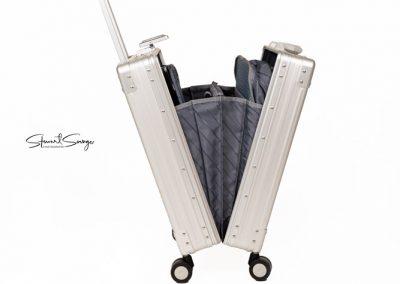 Aleon Aluminum Designer Luggage Wheeled Case
