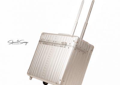 Aleon Aluminum Designer Luggage Wheeled Pilots Case