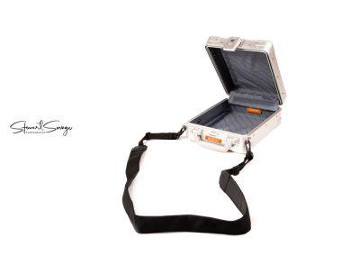 Aleon Aluminum Luggage with Strap