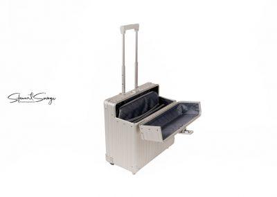 Aleon Aluminum Designer Luggage Pilots Case