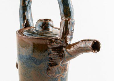 Miniature Ceramic Teapot