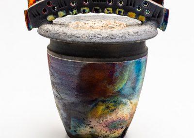 Raku Cremation Urn