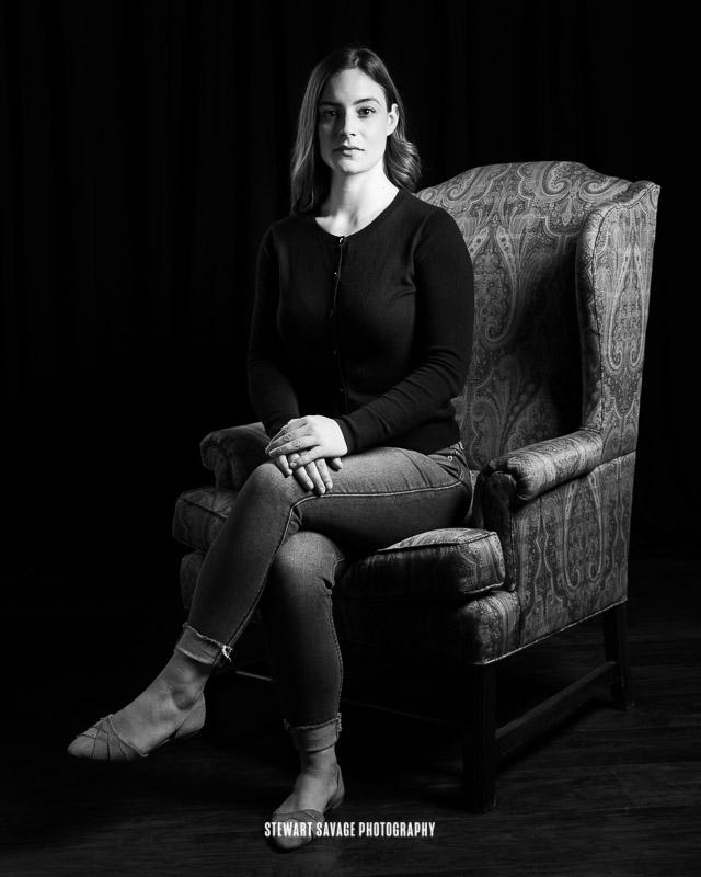 Portrait of Chloe Ebarb - The Chair