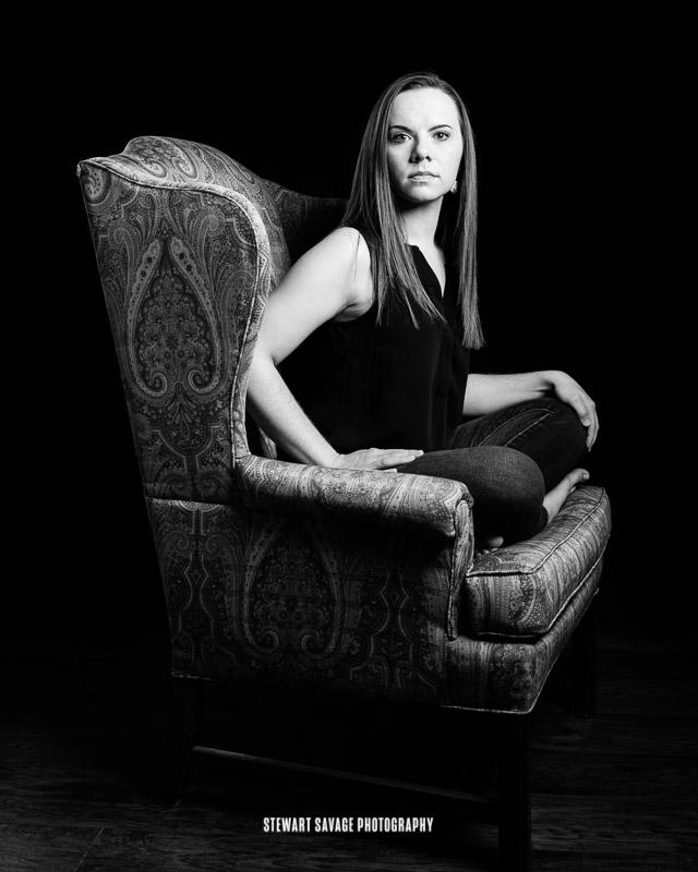 Portrait of Autum Batton - The Chair